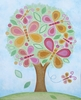 Butterfly Tree Canvas Wall Art