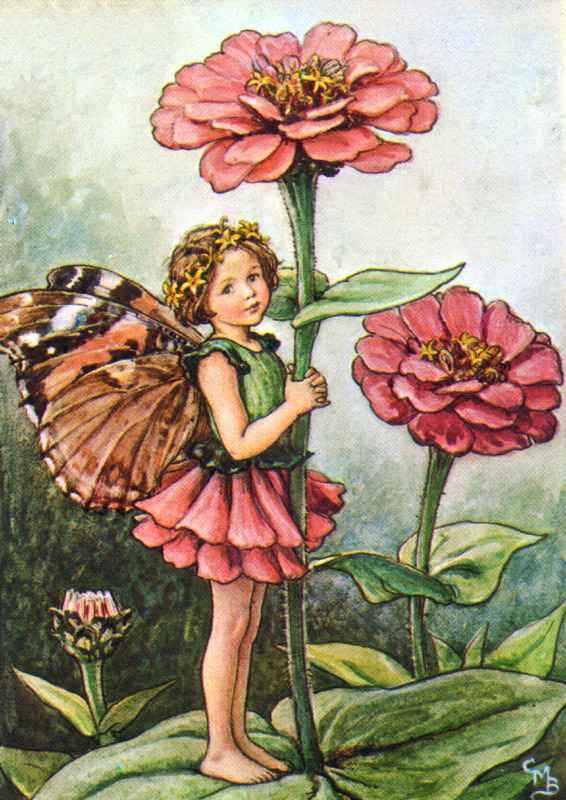 Butterfly Wing Fairy Vintage Artwork By Vintage Artwork