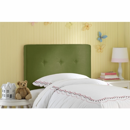 Button Upholstered Headboard