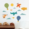 By Air Fabric Wall Decal