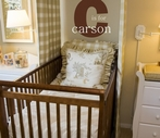 C is for Initial and Name Wall Decal