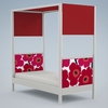 Cabana Bed with Optional Canopy