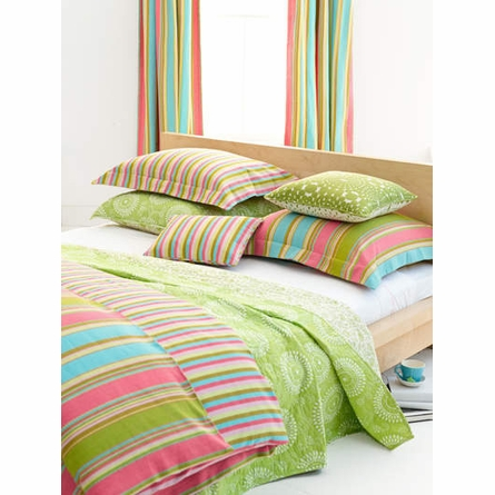 On Sale Cabana Stripe Duvet Cover - King