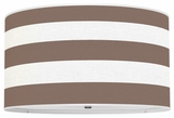 Cabana Stripes Chocolate Brown