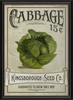 Cabbage Seeds Framed Wall Art
