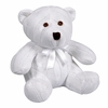 Cable Knit Teddy Bear in White