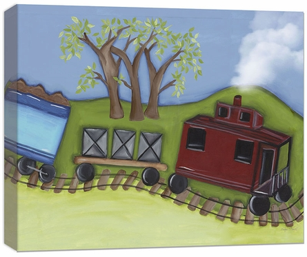Caboose Canvas Reproduction