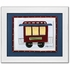 Caboose Personalized Framed Canvas Reproduction