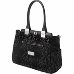 Cafe Carryall Diaper Bag - Black Velvet Trifle Cake