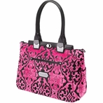 Cafe Carryall Diaper Bag - Dragonfruit Cake