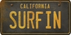 California Custom License Plate Art