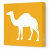 Camel Silhouette Canvas Wall Art