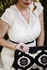 Cameo Clutch Diaper Bag - Key Lime Cream Cake