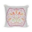 Camerina Embroidered Decorative Pillow