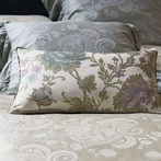 Camille Throw Pillow in Cool Mineral