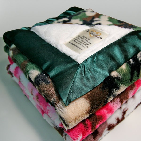 Camouflage Baby Blanket By My Blankee Baby Blankets