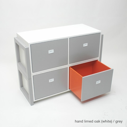 Campaign II Stacking Dresser