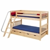 Campbell Slatted Low Bunk Bed