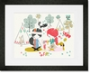 Campfire Friends Framed Art Print