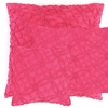 Candlewick Fuchsia Large Square Pillow