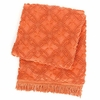 Candlewick Paprika Throw Blanket