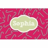 Candy Canes Personalized Placemat