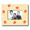 Candy Corn Butter Picture Frame