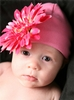 Candy Pink Daisy Cotton Hat