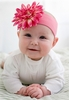Candy Pink Daisy Soft Headband