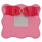 Candy Pink Scalloped Wall Picture Frame
