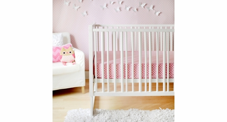 Candy Polka Dot Crib Sheet