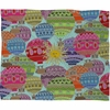 Candy Sky Fleece Throw Blanket