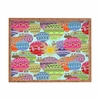 Candy Sky Rectangle Tray
