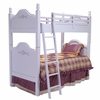 Cape Cod Bunk Bed with Roses