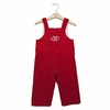 Cape Cod Corduroy Overalls in Red