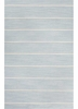 Cape Cod Striped Rug in Porcelain Blue