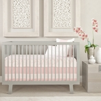 Capri Crib Bedding Set in Blush