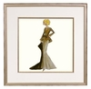 Capucine Framed Fashion Barbie Print