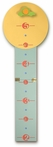 Car and Sign Wooden Growth Chart