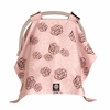 Car Seat Canopy in Pink Camellia