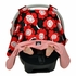Car Seat Canopy in Red Poppy