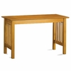 Caramel Latte Traditional Slatted Desk