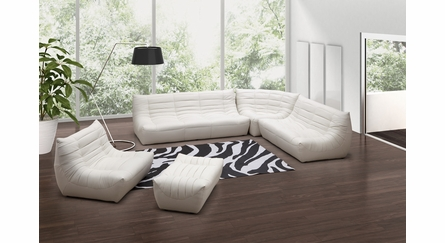 Carnival Love Seat in White