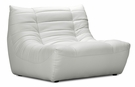 Carnival Single Seat in White