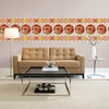 Carnivale Stripe Wall Decals