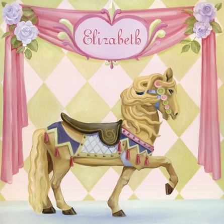 Carousel Horse Canvas Wall Art
