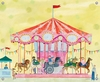 Carousel Canvas Wall Mural