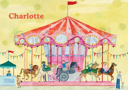 Carousel Placemat