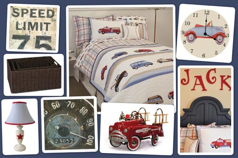 Cars and Trucks Bedroom
