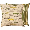 Cars and Trucks Large Throw Pillow